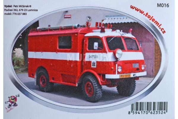 Samolepka T805  hasičská