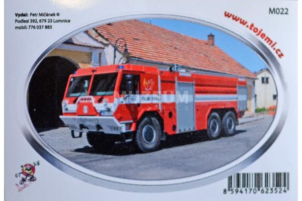 Samolepka T 815 - 7 6x6 hasičská