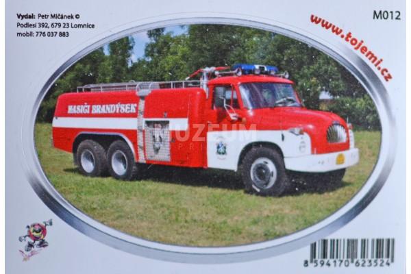 Samolepka T 138 6x6 hasičská