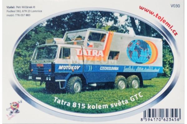 Samolepka T 815 GTC (13 cm)