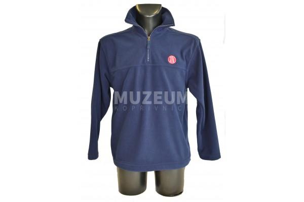 Pánská mikina fleece s výšivkou logo Tatra, tmavě modrá  SLEVA !!!