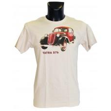 Pánské triko s červeným potiskem T 57b