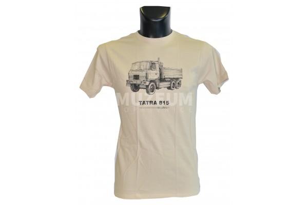 Pánské triko s potiskem T 815