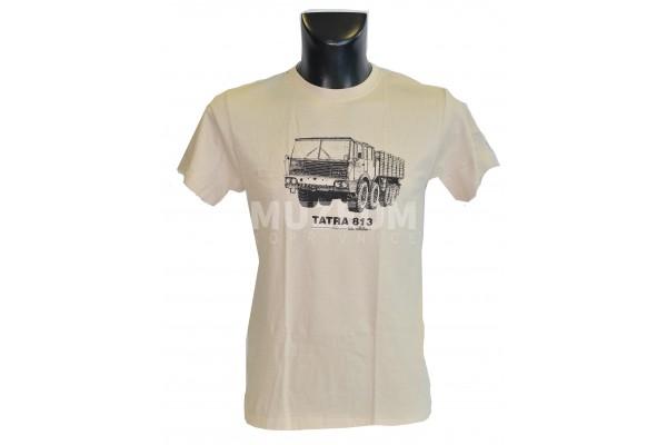 Pánské triko s potiskem T 813