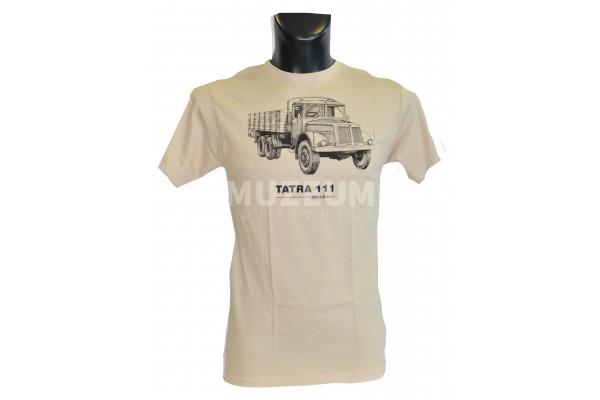 Pánské triko s potiskem T 111