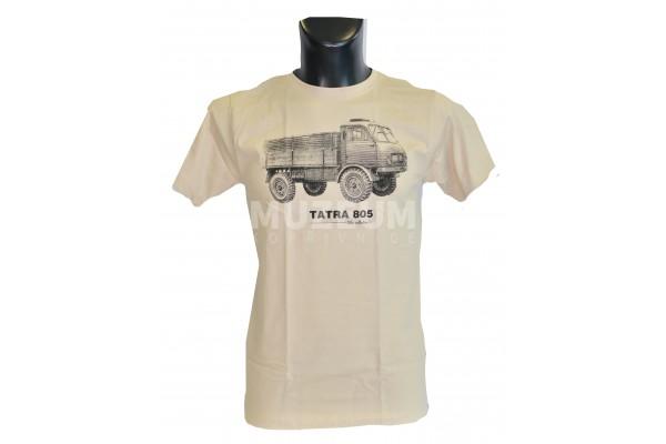 Pánské triko s potiskem T 805