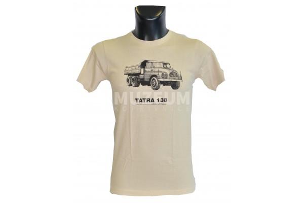 Pánské triko s potiskem T 138