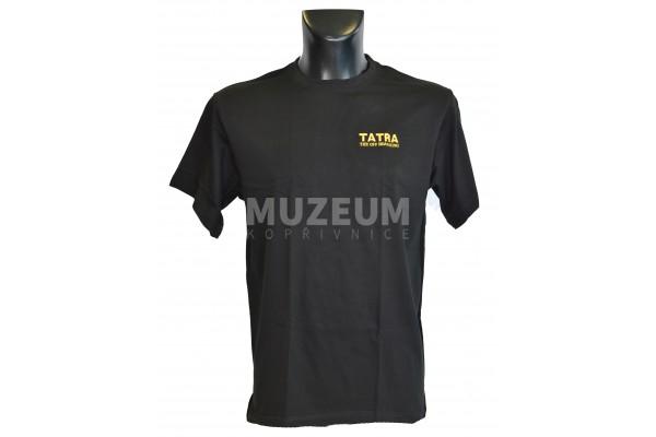 Pánské triko nápis Tatra the offroad king