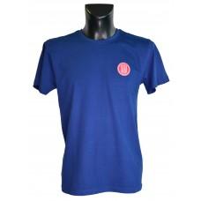 Pánské triko logo Tatra + nápis na zádech, tmavě modré